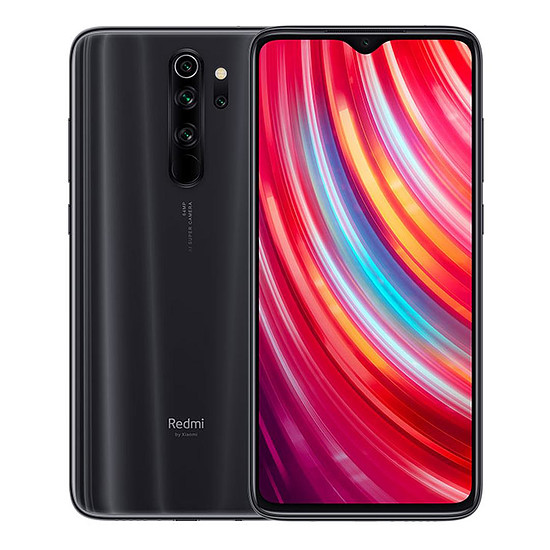 Smartphone et téléphone mobile Xiaomi Redmi Note 8 Pro (noir) - 64 Go