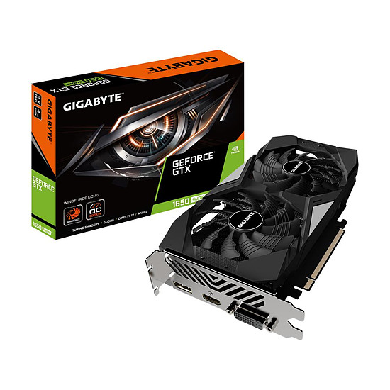 Carte graphique Gigabyte GeForce GTX 1650 Super WindForce OC