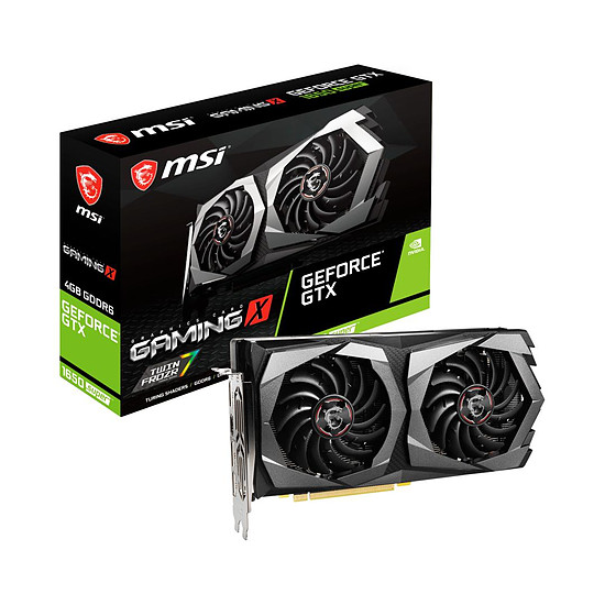 Carte graphique MSI GeForce GTX 1650 SUPER GAMING X