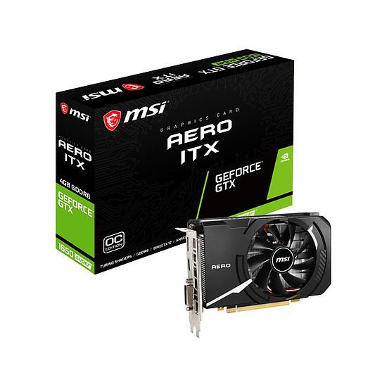 Carte graphique MSI GeForce GTX 1650 SUPER Aero ITX OC