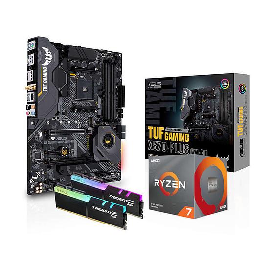 Kit upgrade PC AMD Ryzen 7 3700X - Asus X570 - RAM 16Go 3200MHz