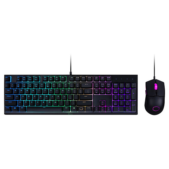 Pack clavier-souris Gaming Cooler Master MS110
