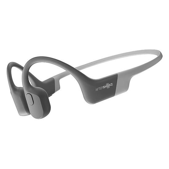 Casque Audio AfterShokz Trekz Aeropex Gris - Casque sans fil
