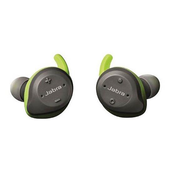Casque Audio Jabra Elite Sport Gris/Vert - Ecouteurs sans fil