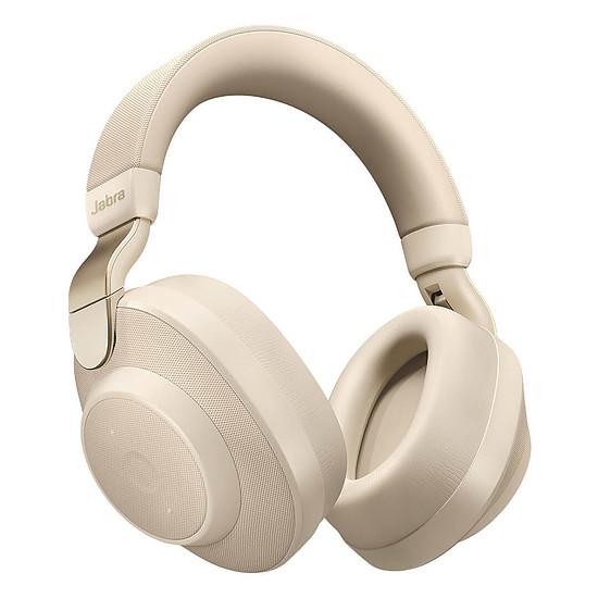 Casque Audio Jabra Elite 85h Titanium Or / Beige - Casque sans fil
