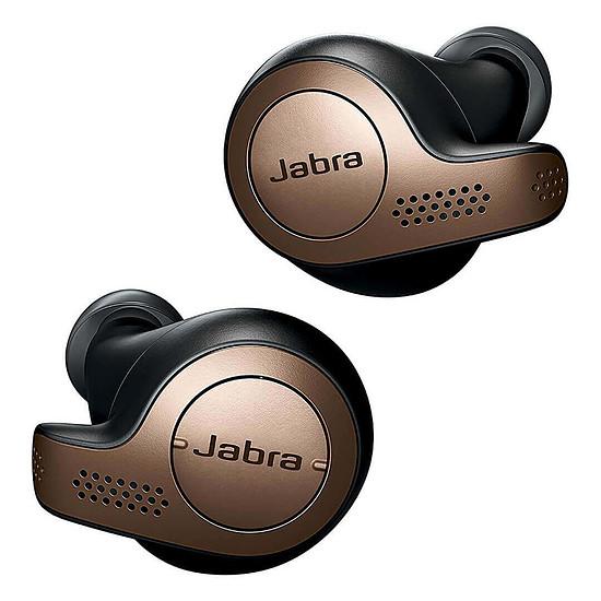 Casque Audio Jabra Elite 65t Copper Black - Ecouteurs sans fil