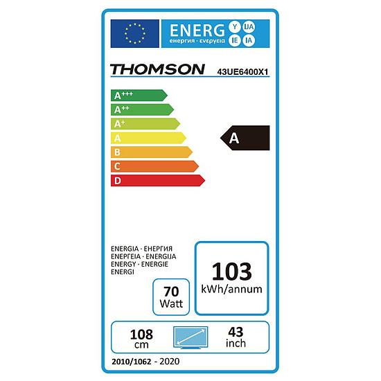TV Thomson 43UE6400 TV LED UHD 4K HDR 108 cm - Autre vue