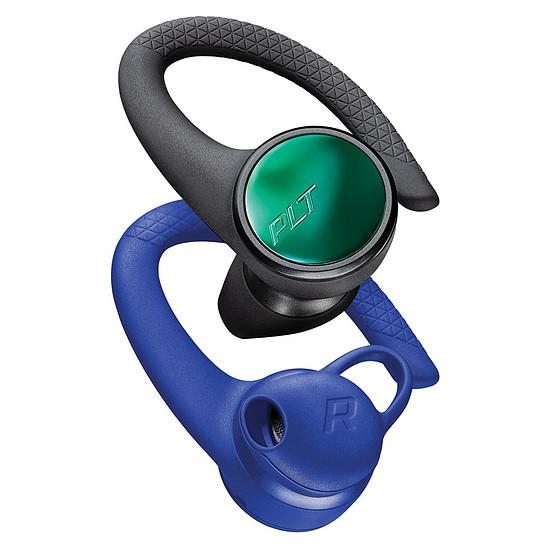 Casque Audio Plantronics BackBeat FIT 3150 Noir / Bleu - Écouteurs sans fil