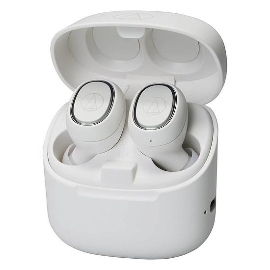 Casque Audio Audio-Technica ATH-CK3TW Blanc - Écouteurs sans fil