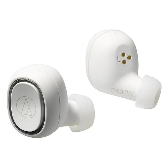 Casque Audio Audio-Technica ATH-CK3TW Blanc - Autre vue