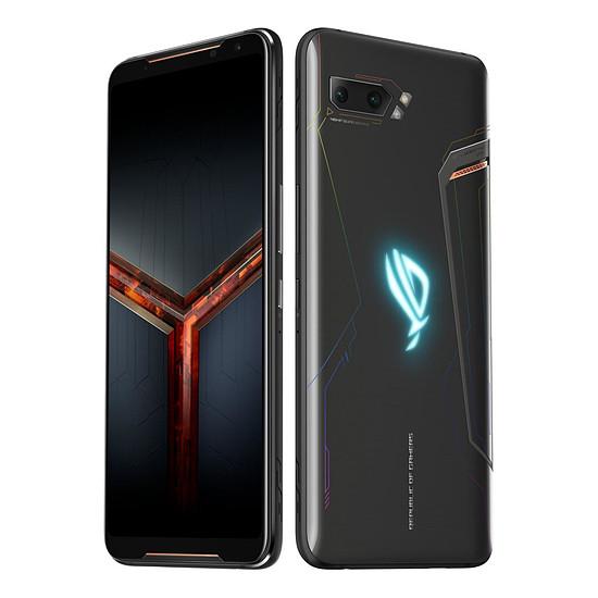 Smartphone et téléphone mobile ASUS ROG Phone II (2) Strix Edition ZS660KL (noir) - 128 Go - Autre vue