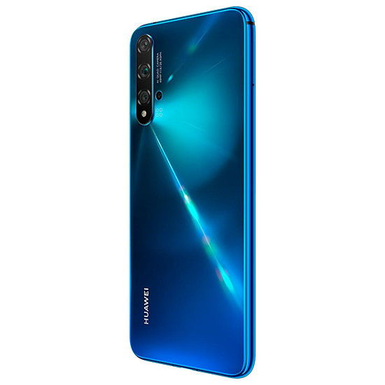 Smartphone et téléphone mobile Huawei Nova 5T Bleu - Autre vue