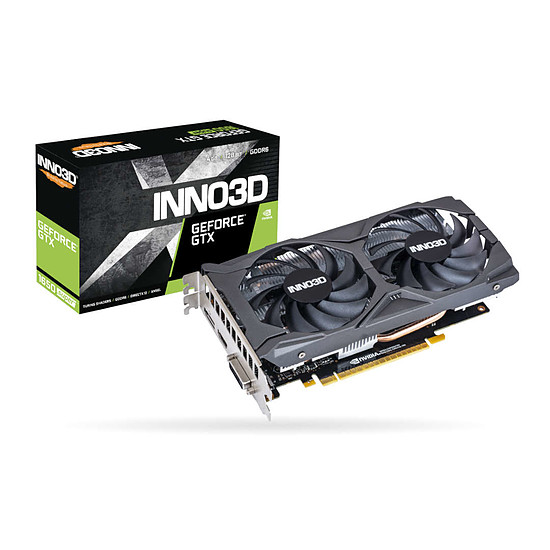 Carte graphique Inno3D GeForce GTX 1650 SUPER Twin X2 OC