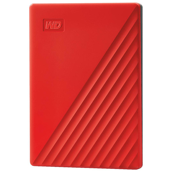 Disque dur externe Western Digital (WD) My Passport - 4 To (Rouge)