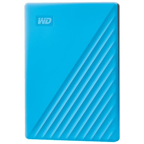 Disque dur externe Western Digital (WD) My Passport - 2 To (Bleu)