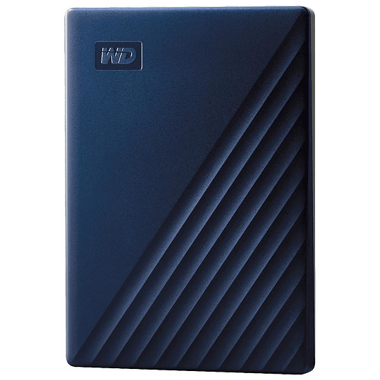 Disque dur externe Western Digital (WD) My Passport For Mac - 5 To (Bleu nuit)