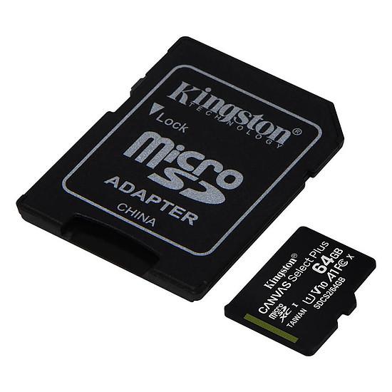 Carte mémoire Kingston Canvas Select Plus SDCS2/64GB - Autre vue