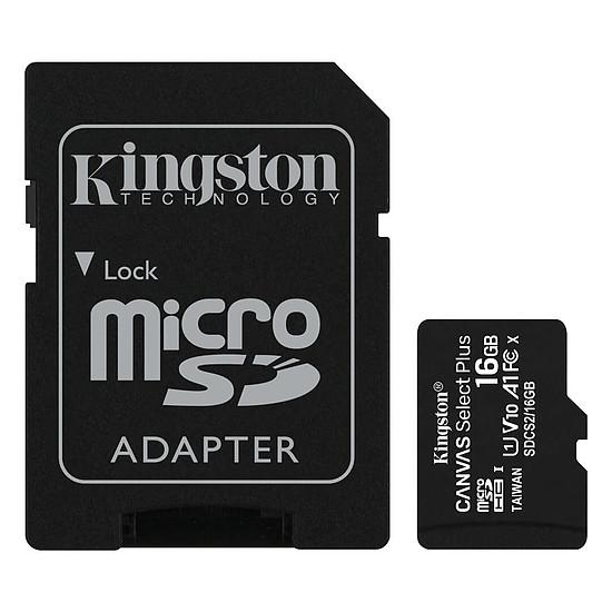 Carte mémoire Kingston Canvas Select Plus SDCS2/16GB