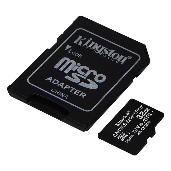 Carte mémoire Kingston Canvas Select Plus SDCS2/32GB - Autre vue