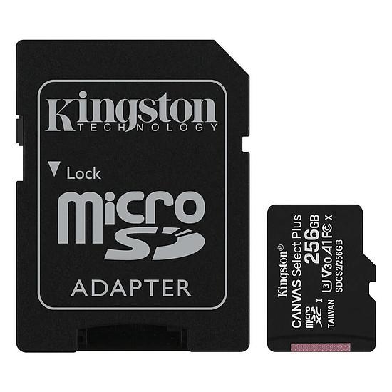 Carte mémoire Kingston Canvas Select Plus SDCS2/256GB