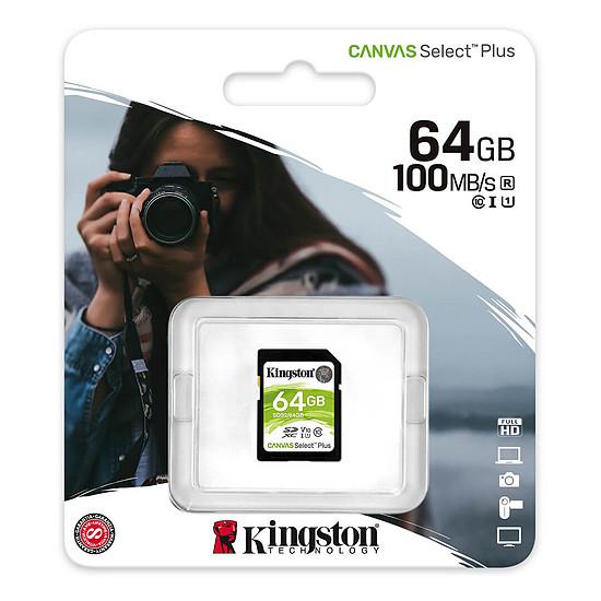 Carte mémoire Kingston Canvas Select Plus SDS2/64GB - Autre vue
