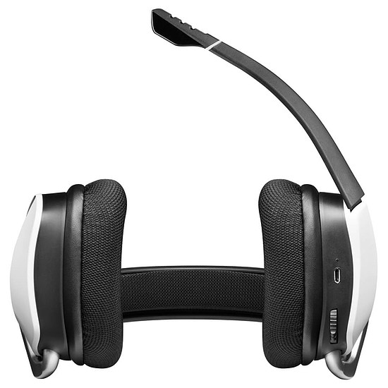 Casque micro Corsair Void RGB Elite Wireless - Blanc - Autre vue