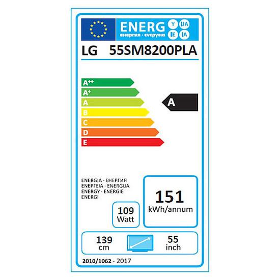 TV LG 55SM8200 - TV 4K UHD HDR - 139 cm - Autre vue