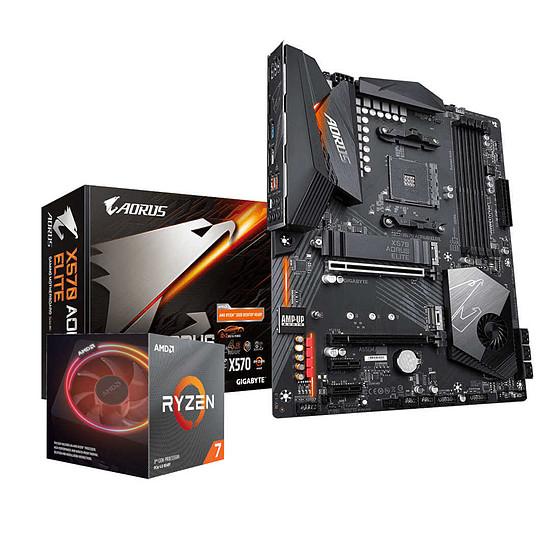 Kit upgrade PC Ryzen 7 3700X + Gigabyte X570 AORUS ELITE