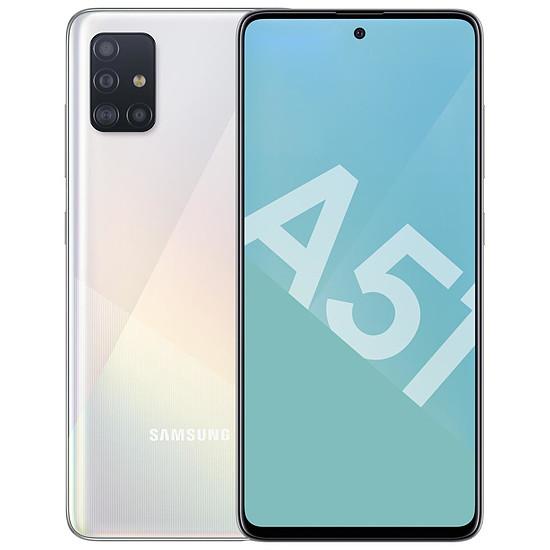 Smartphone et téléphone mobile Samsung Galaxy A51 (blanc) - 128 Go - 4 Go