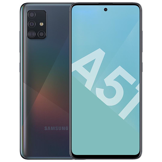 Smartphone et téléphone mobile Samsung Galaxy A51 (noir) - 128 Go - 4 Go
