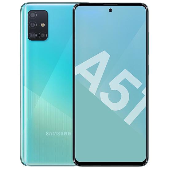 Smartphone et téléphone mobile Samsung Galaxy A51 (bleu) - 128 Go - 4 Go