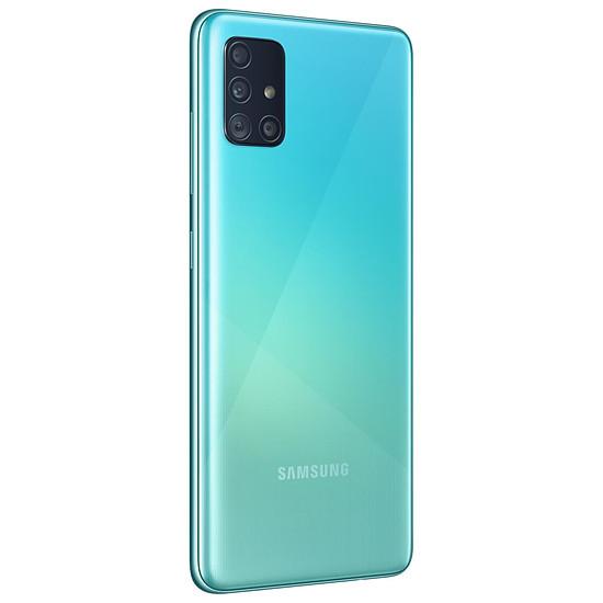 Smartphone et téléphone mobile Samsung Galaxy A51 (bleu) - 128 Go - 4 Go - Autre vue
