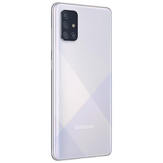 Smartphone et téléphone mobile Samsung Galaxy A71 (argent) - 128 Go - 6 Go - Autre vue