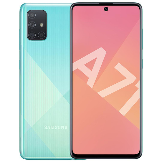 Smartphone et téléphone mobile Samsung Galaxy A71 (bleu) - 128 Go - 6 Go