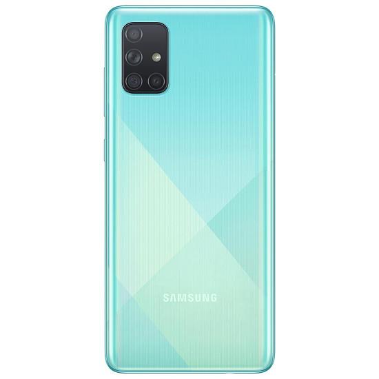 Smartphone et téléphone mobile Samsung Galaxy A71 (bleu) - 128 Go - 6 Go - Autre vue