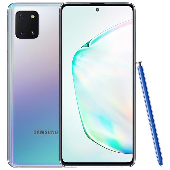 Smartphone et téléphone mobile Samsung Galaxy Note 10 Lite (argent) - 6 Go - 128 Go
