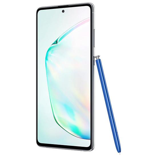 Smartphone et téléphone mobile Samsung Galaxy Note 10 Lite (argent) - 6 Go - 128 Go - Autre vue