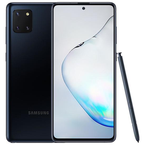 Smartphone et téléphone mobile Samsung Galaxy Note 10 Lite (noir) - 6 Go - 128 Go