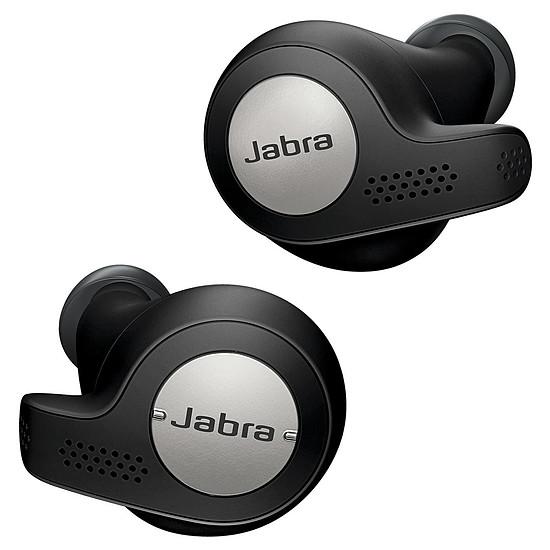 Casque Audio Jabra Elite 65t Noir et Silver - Ecouteurs sans fil