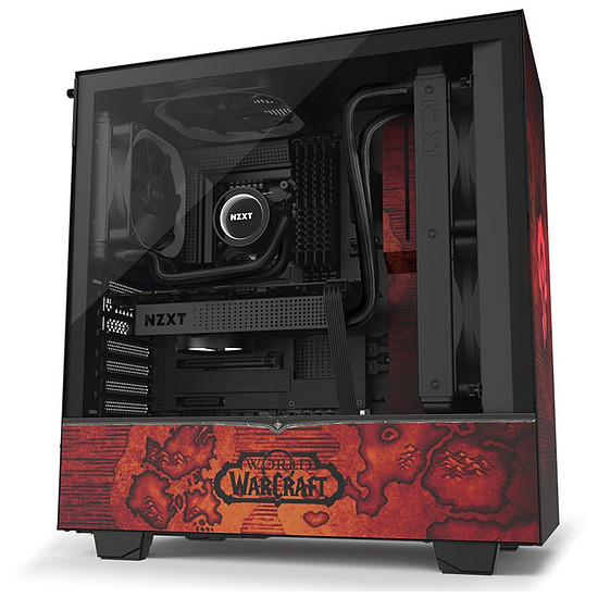 Boîtier PC NZXT H510 - World of Warcraft Horde