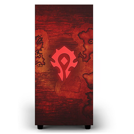 Boîtier PC NZXT H510 - World of Warcraft Horde - Autre vue