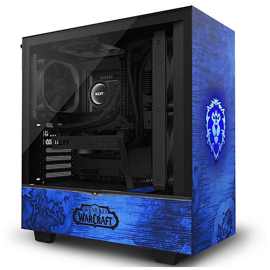 Boîtier PC NZXT H510 - World of Warcraft Alliance