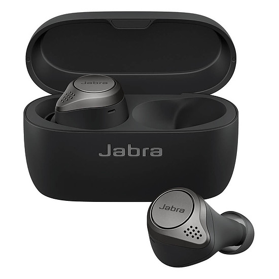 Casque Audio Jabra Elite 75t Noir Titane - Ecouteurs sans fil - Autre vue
