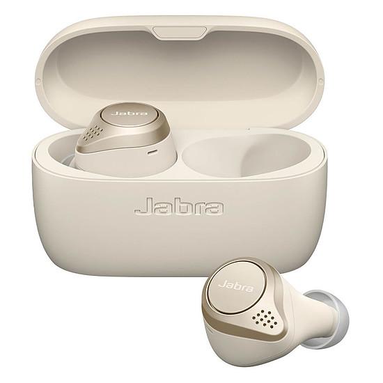 Casque Audio Jabra Elite 75t Or Beige - Ecouteurs sans fil - Autre vue