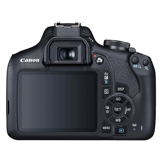 Appareil photo Reflex Canon EOS 2000D + EF-S 18-55 mm IS II + EF 50mm f/1.8 STM - Autre vue