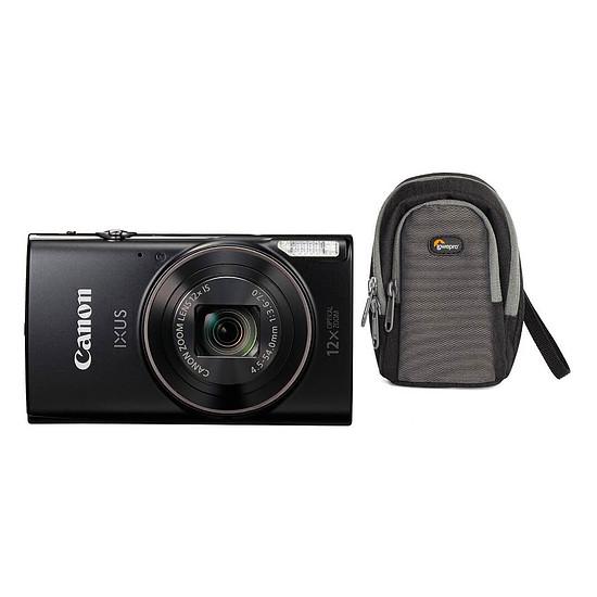 Appareil photo compact ou bridge Canon IXUS 285 HS Noir + Lowepro Portland 30 Noir