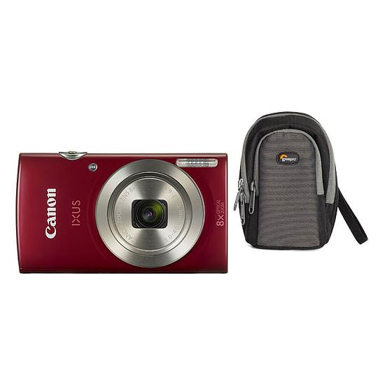 Appareil photo compact ou bridge Canon IXUS 185 Rouge + Lowepro Portland 30 Noir