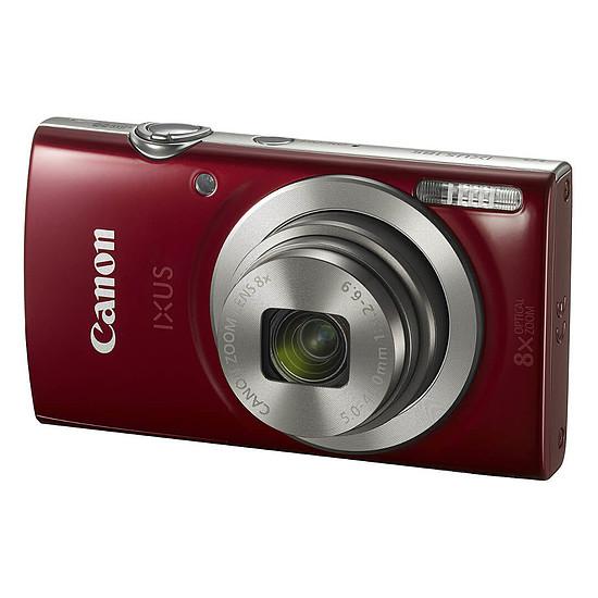 Appareil photo compact ou bridge Canon IXUS 185 Rouge + Lowepro Portland 30 Noir - Autre vue