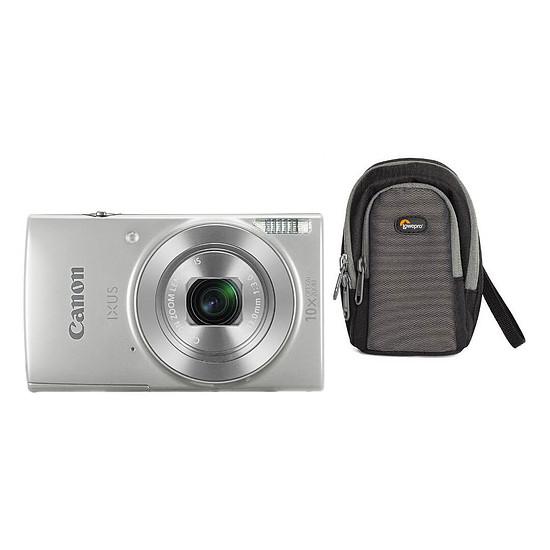Appareil photo compact ou bridge Canon IXUS 190 Argent + Lowepro Portland 30 Noir