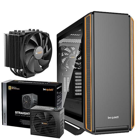 Boîtier PC Be Quiet Silent Base 801 TG Orange + Straight Power 11 750W + DARK ROCK 4